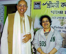With a leading exponent of Tagore Songs, Smt. Sraboni Sen