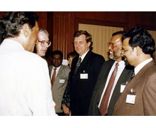 With Mr. John Major, The Right Hon. M.P. and Prime Minister of UK