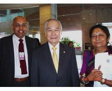 With Prime Minister Mr. Anand Panyarachun, Thailand