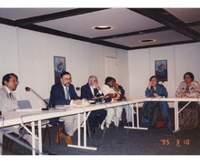 With Dr. Amanullah Khan, Dy. Chairman, Planning Commission of Pakistan, 1995