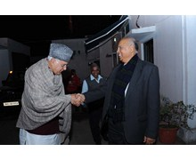 With Dr. Farooq Abdullah, Hon. Union Minister for New and Renewable Energy, Government of India, New Delhi