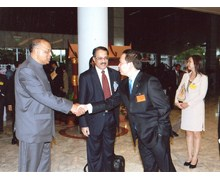 With Foreign Minister of Thailand