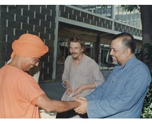 With Swami Agnivesh, Hon. M.P. and Prof. Jean Dreze, Noted Economist